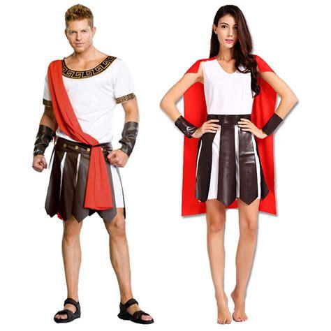Set Kostum Costume Murah carnival ancient greece warrior soldier gladiator costume great