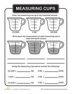 Kitchen Measuring Lesson Plans The World S Catalog Of Ideas