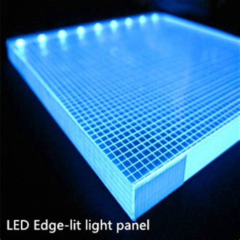 led acrylic edge lighting edge lit panel shenzhen union opto international ltd our