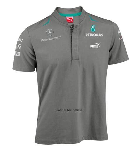 Poloshirt Amg Marcedes Grey mercedes f1 team polo shirt