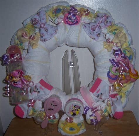 Minnie And Mickey Mouse Baby Shower by Baby Shower Mickey Mouse Or Minnie Mouse Wreath Ebay