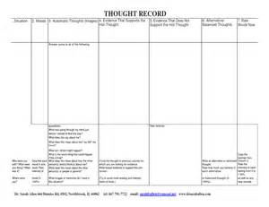 16 best images of thoughts and mood worksheets thoughts