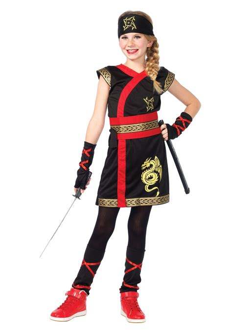 halloween costumes girls ninja warrior costume