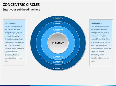 Concentric Circles Powerpoint Sketchbubble Concentric Circles Powerpoint
