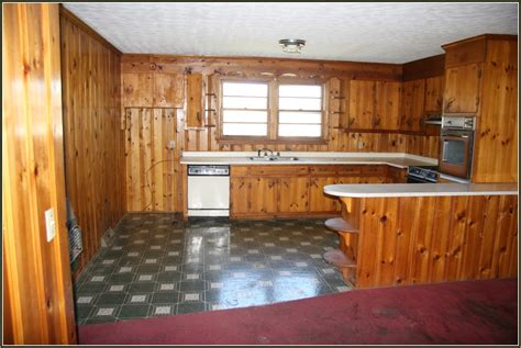 knotty pine kitchen cabinets rooms