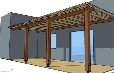 veranda dwg simple timber pergola complete solution details for