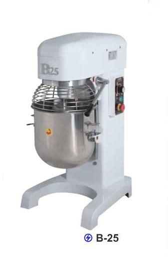 Mixer Roti Biasa planetary mixer kapasitas 25 liter untuk usaha bakery