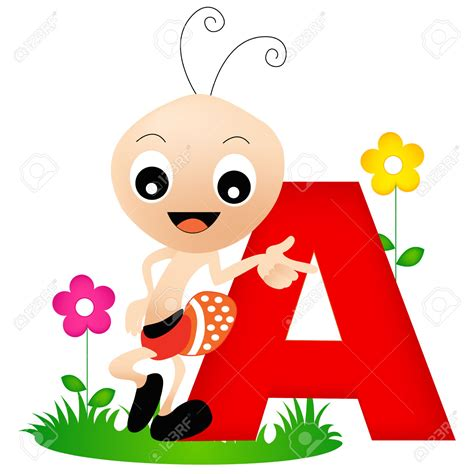 letter a clipart ant clipart letter a pencil and in color ant clipart