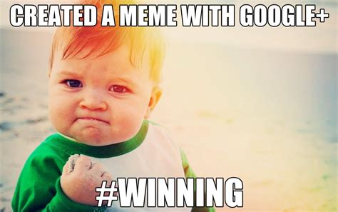 Baby Meme - how to create a meme the easy way with google dustn tv