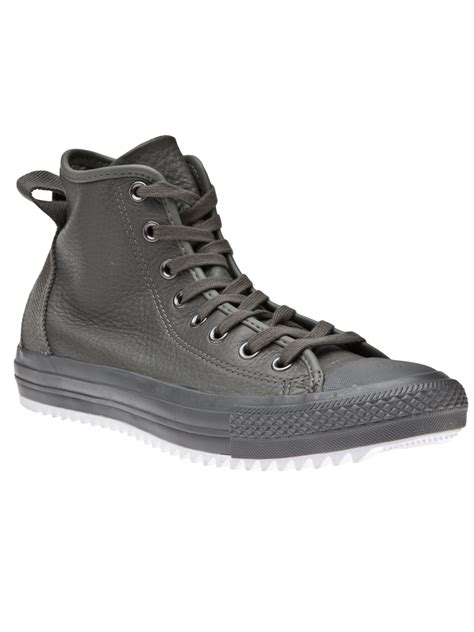 converse grey sneakers converse ct hollis sneaker in gray for grey lyst