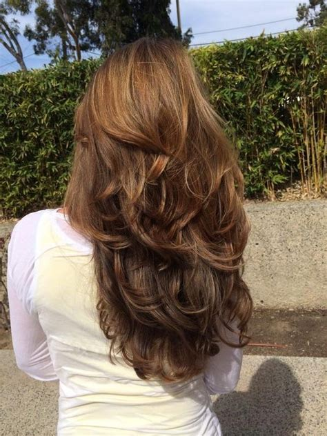 back pics of long layered hair 15 ideas of long hairstyles layers back view