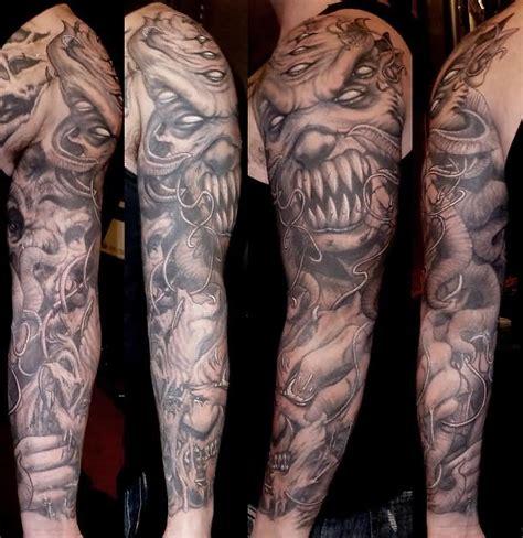 good vs evil tattoo sleeve 75 wonderful evil tattoos