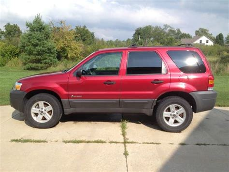 ford escape 2 3 l engine buy used 2005 ford escape hybrid sport utility 4 door 2 3l