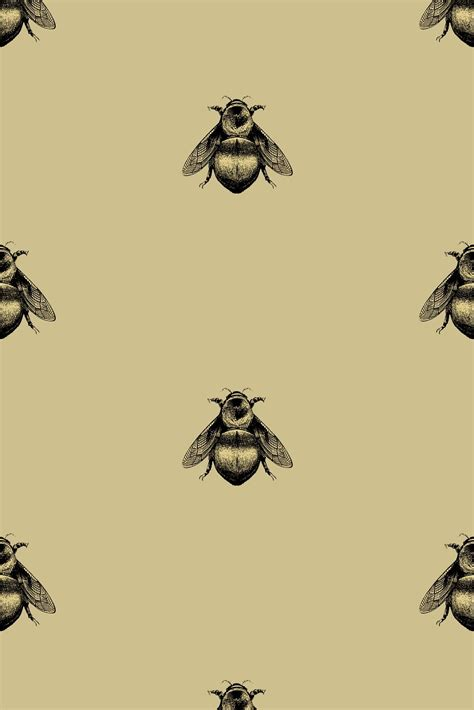 wallpaper with gold bees timorous beasties wallcoverings napoleon bee wallpaper