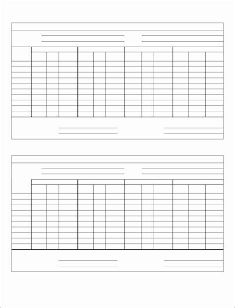 basketball score sheet template
