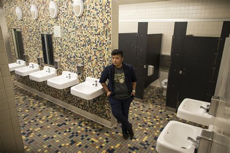 how to have sex in school bathroom this school is opening the first gender neutral bathroom in los angeles unified la times