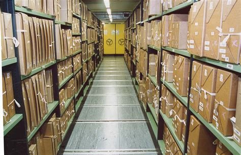 Archive Records File Documents Stacks In A Repository At The National Archives Jpg