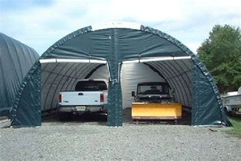 Car Portable Garage by Portable Outdoor Garages Build Storage Shed Door
