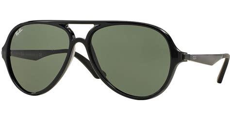 Rayban Elastis Lensa ban plastic aviator sunglasses in green black lyst
