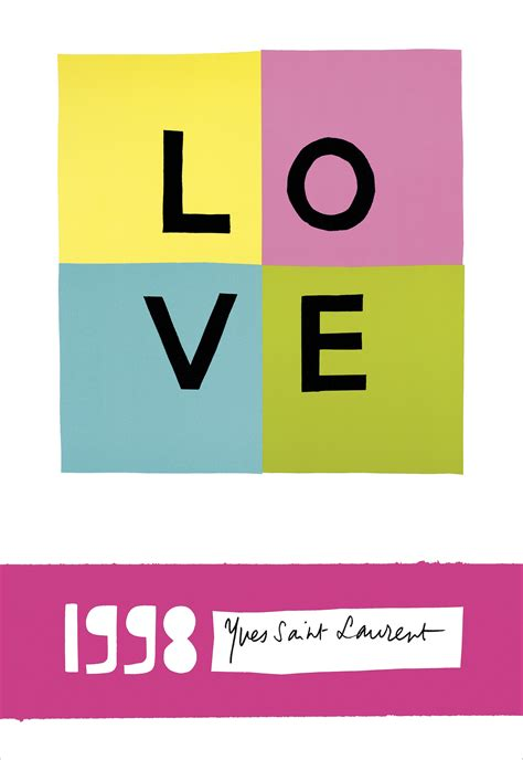 St Laurent Gift Card - yves saint laurent s love cards for valentine s day vogue