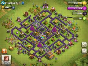 Top 3 town hall 8 farming bases clash of clans youtube