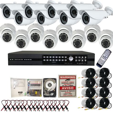 5 16 ch channel surveillance home office retail store