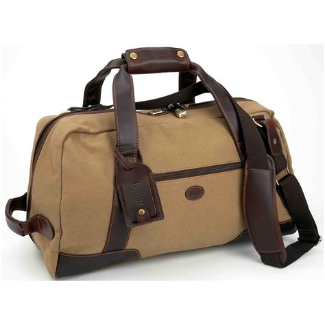 small duffle bag baron country 174 small canvas leather duffel bag 209112