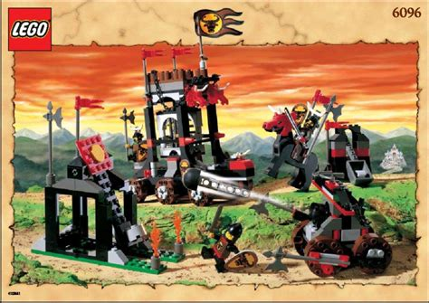 lego bulls attack 6096 knights kingdom