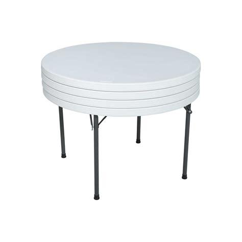 table pliante ronde dia 122cm 4 6 personnes table