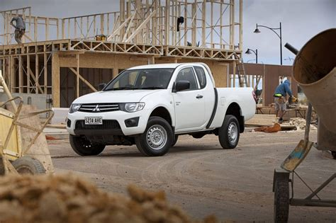 mitsubishi triton club mitsubishi triton club cab launched in australia
