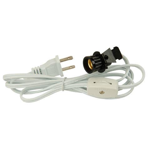 l cord switch lowes shop portfolio white black l power cord at lowes com