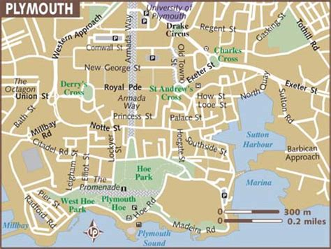 map of plymouth map of plymouth
