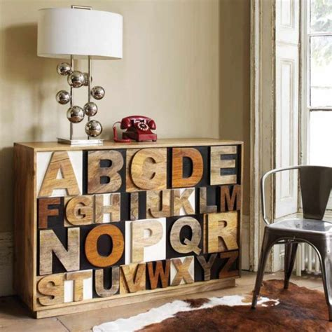 nothing says beautiful better than alphabet furniture