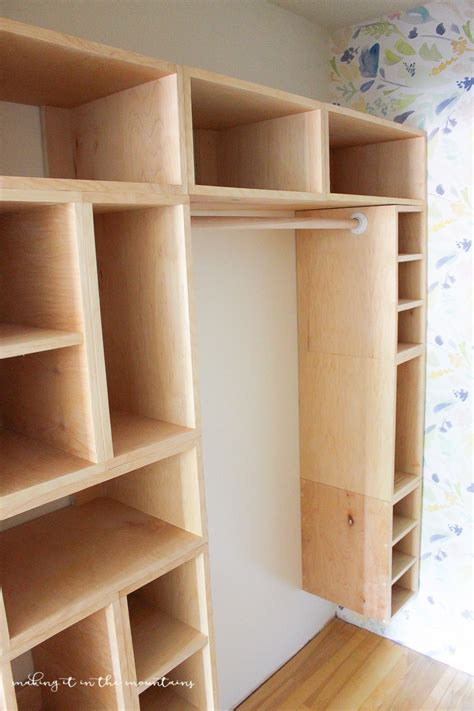 how to make closet organizer system diy custom closet organizer the brilliant box system