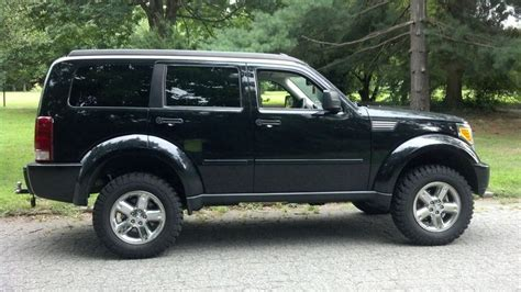 jeep nitro black dodge nitro with leveling kit my nitro lifted dodge