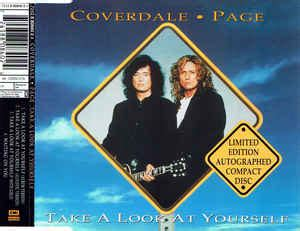Cd Coverdale Page Album Coverdale Page coverdale page take a look at yourself cd at discogs