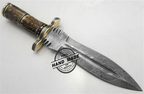 Best Handmade Knives - best damascus dagger knife custom handmade manufactured