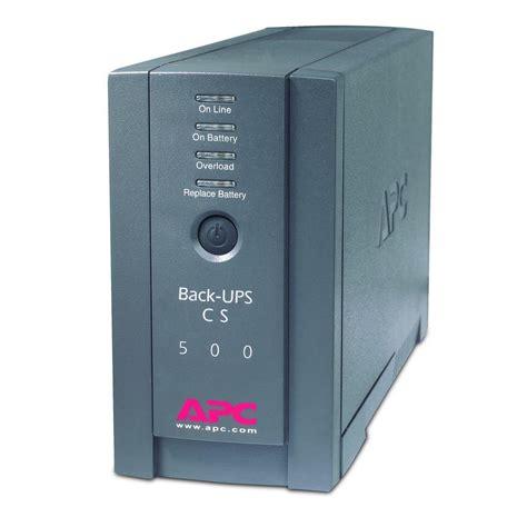 fan with battery backup apc 500va ups battery backup bk500blk the home depot