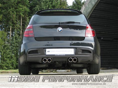 Bmw 1er E87 Diffusor by 1 Series Bmw E81 E87 M1 Look Rear Diffusor