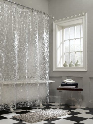 what is peva shower curtain com maytex ice circles peva shower curtain clear