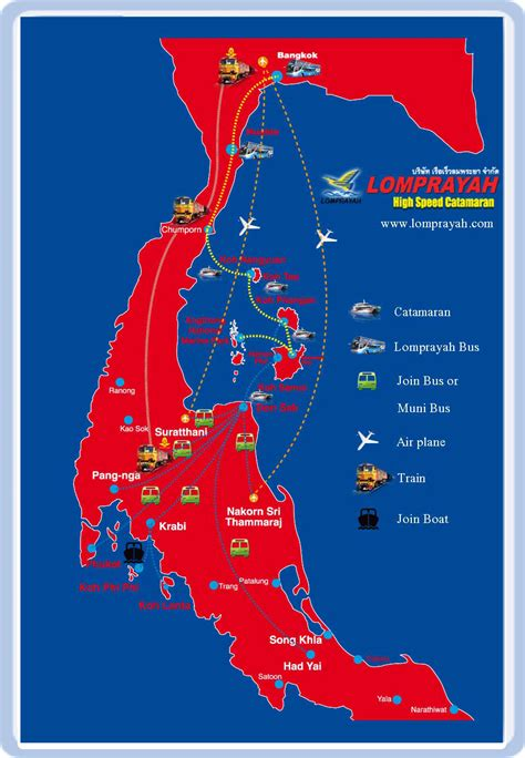 coastal catamaran ferry routes serviced by lomprayah one of ferry providers for