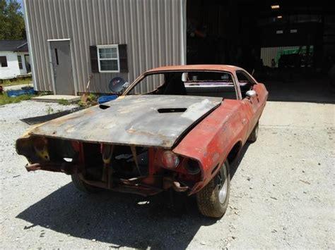 dodge challenger parts project car