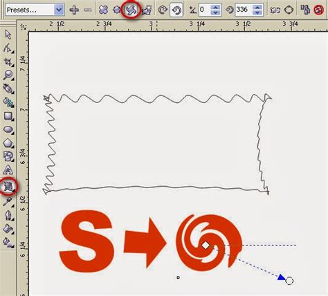 how to use interactive doodle how to learn interactive tool using corel draw