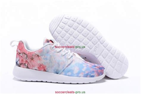 nike roshe one cherry blossom floral shoes womens pink