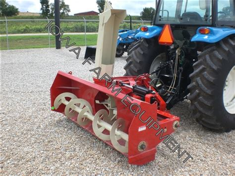 Red Farm King Y840g 84 Quot Tractor Pto Snow Blower 4bladefan