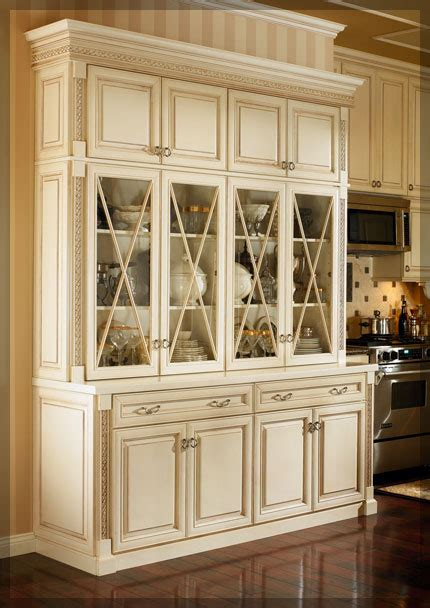 hutch kitchen cabinets dining room hutches kraftmaid cabinetry