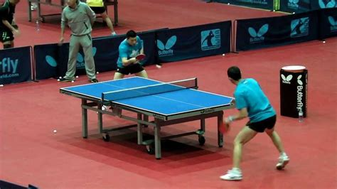 how long is a table tennis table ma long training hd funnydog tv