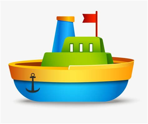 toy boats cartoon toy boat boat vector cartoon png and vector for free