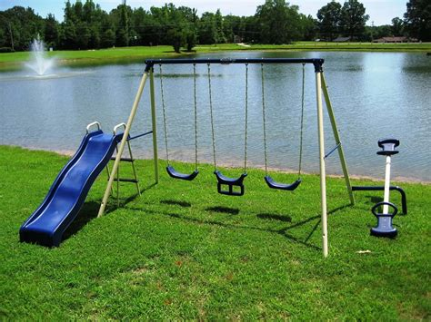 Metal Swing Sets - best metal swingset the backyard site