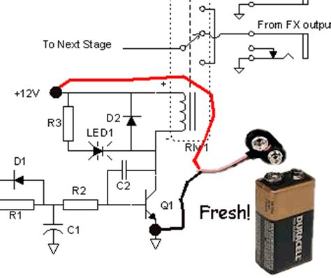 pull resistor pop geofex relay driver popping when energising